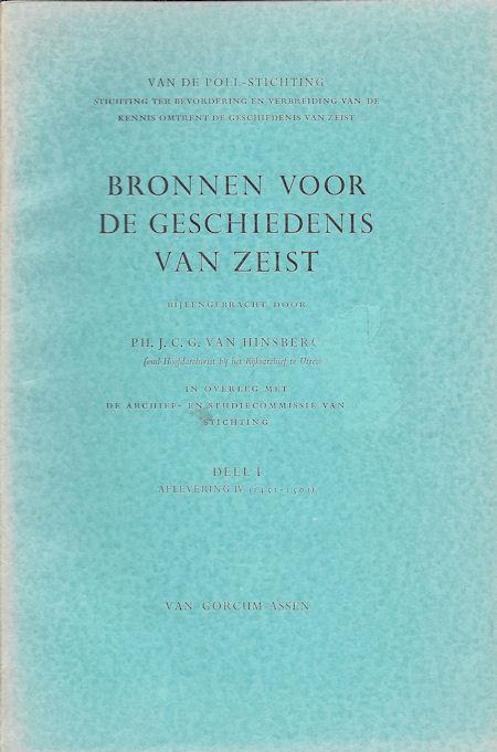 Bronnen voor de geschiedenis van Zeist deel 1, afl. 4 (1451-1500)