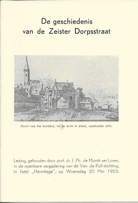 De geschiedenis van de Zeister Dorpsstraat