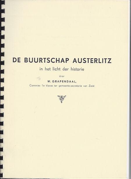 De buurtschap Austerlitz in het licht der historie
