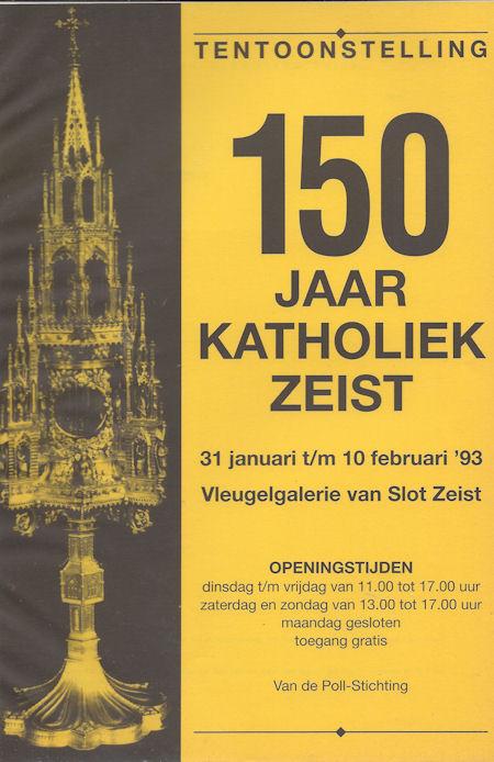 Tentoonstelling 150 jaar katholiek Zeist