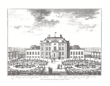 Nadruk prent van Slot Zeist, D. Stoopendaal