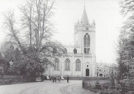 Prentbriefkaart Kraal, Oude Kerk
