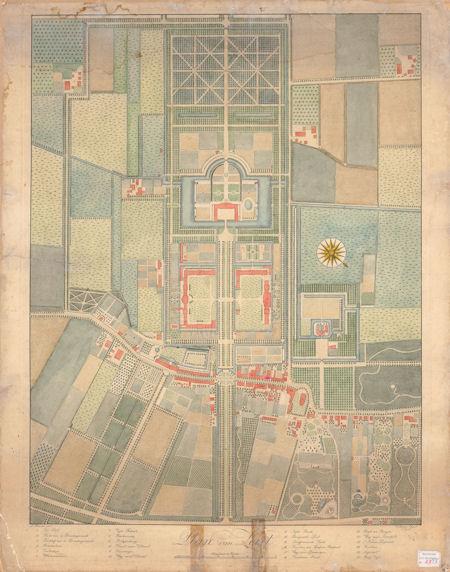 Foto Plattegrond  Zeist 1802